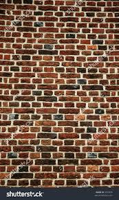 dark red brick wall hampton court stock photo 3252929 shutterstock