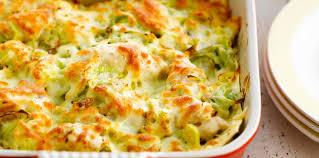 lasagnes au poulet et aux poireaux facile et pas cher recette sur