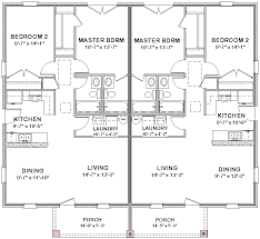 duplex house plans full floor plan 2 bed 2 bath duplex house