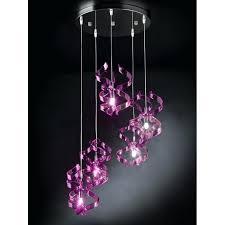 lustre chambre fille luminaire violet lustre design suspension design luminaire chambre