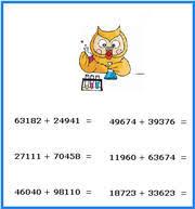 cross addition 3rd grade free math worksheets third grade math