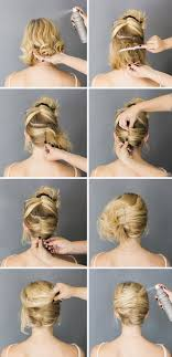 step by step easy updos for thin hair best 25 short hair updo ideas on pinterest easy hair short