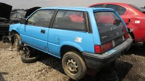 renault alliance hatchback junkyard find 1986 honda civic 1300 hatchback