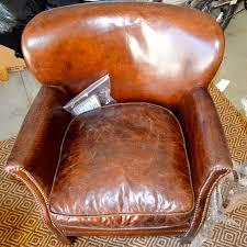 Leather Chair Restoration My Big Bear Lake Cottage Renovation Part 5 After Orange County