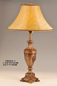 Vintage Brass Table Lamps Lamps Home Table Lamps European Table Lamps Amber Cloth