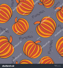 halloween background tiling seamless pattern pumpkins halloween background vector stock vector