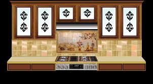 stained glass for traditional kitchens
