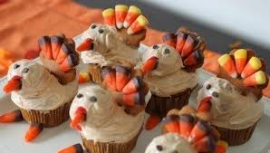 how to make turkey cupcakes for thanksgiving fall desserts