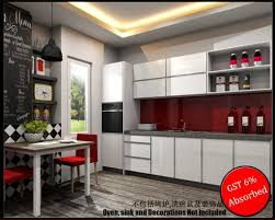 Kitchen Cabinet Glass Doors Only Quartz Top Kitchen Cabinet Deal Only Rm7599