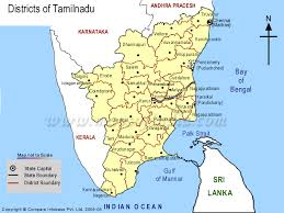 tamil nadu map map of tamil nadu homa therapy india