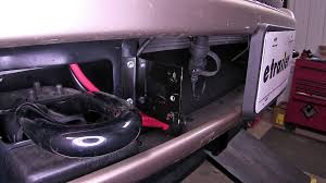 installation of the bulldog front winch wiring kit on a 2012 ford