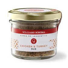 giada de laurentiis chicken turkey rub williams sonoma