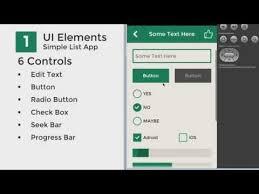 android gui designer android ui flat design