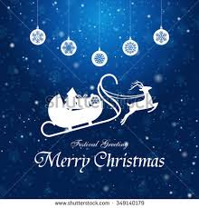 white snowflake christmas tree christmas elements stock vector