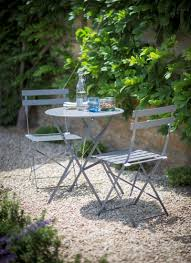 Folding Bistro Table And 2 Chairs Bistro Set Table And 2 Chair Shutter Blue Garden Pinterest