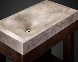 Concrete Bathroom Sink Concrete Bathroom Sinks Adding Industrial Style Luxury To Modern