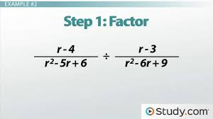 how to multiply and divide rational expressions video u0026 lesson