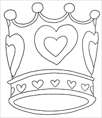 Crown Template Free Templates Free Premium Templates Princess Stencil Free Coloring Sheets