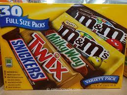 m m mars chocolate variety pack