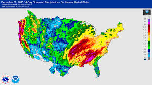Mexico Precipitation Map by Usgs 2015 2016 Winter Floods