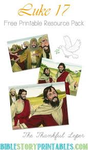 43 best jesus heals the ten lepers images on bible