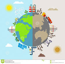 planet earth clipart pollution pencil and in color planet earth