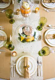 thanksgiving dinner decorating ideas with minted design improvised