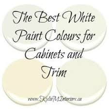 The ONE White Trim Color That Works Every Time White Trim White - Best white paint for kitchen cabinets