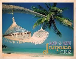 wedding invitations jamaica our jamaican postcard save the dates wedding invitations