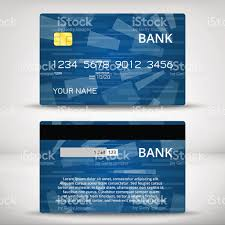 Credit Card Business Cards Designs Templates Of Credit Cards Design Stock Vector Art 503950534 Istock