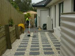 Paved Backyard Ideas Paving Designs For Backyard Photo Of Paving Backyard Ideas
