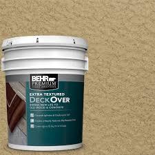 behr premium extra textured deckover 5 gal sc 145 desert sand