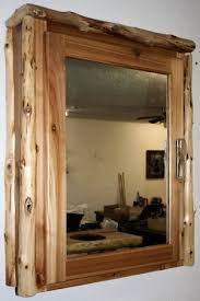 log medicine cabinet u2014 barn wood furniture rustic barnwood and