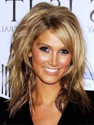 medium length hairstyles fine straight hair layered medium length