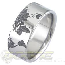 the wedding ring in the world world map wedding rings