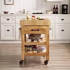 crosley butcher block top kitchen island marston butcher block kitchen cart wood crosley target