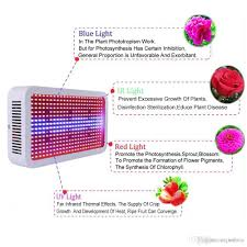 Red Led Light Bulb by Full Spectrum 400w Led Grow Light Red Blue White Warm Uv Ir Ac 85