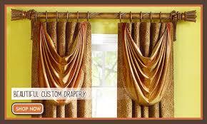 window drapery rods curtain valances lindas curtain studio