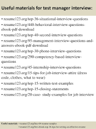 successful resume templates top 8 test manager resume samples