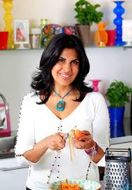 cuisine tv indian food writer and tv chef of indian cuisine anjum