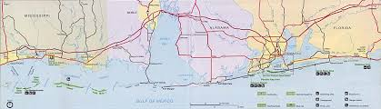 West Coast Of Florida Map by