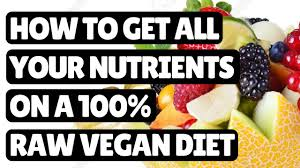 how you get all your nutrients on a fruit diet youtube