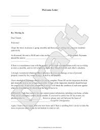 Notice To Vacate Apartment Letter Welcome Letter Template Free Welcome Letter With Sample