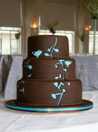 sweet bites cakes chocolate u0026 turquoise wedding cake
