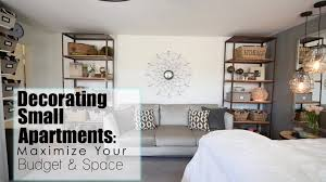 Decorating Ideas For Small Apartments On A Budget by Maximize Your Space Budget In Small Apartments Interior Design