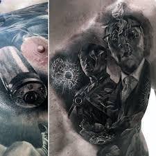 amazing mens bullet gangster chest