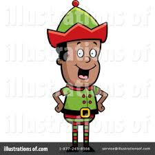christmas elf clipart 228882 illustration by cory thoman