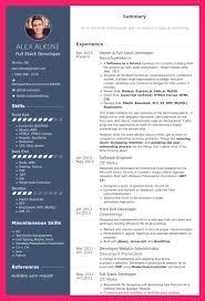 front end developer resume front end developer resume bio letter format