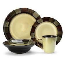 pfaltzgraff everyday taos dinnerware set of 16 hayneedle