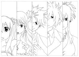 fairy tail coloring pages snapsite me